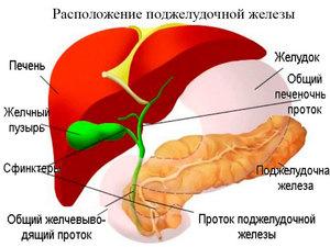 Заболевание поджелудочной железы