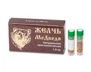 Мед медвежья желчь с солянкой холмовой